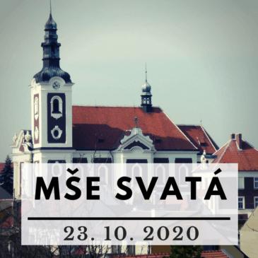 On-line mše svatá 23. října 2020